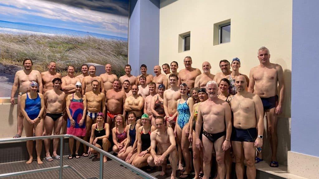 Masterschwimmer und Wasserballer