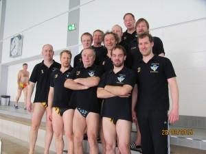 Siegermannschaft 2015 Turnier in Rostock