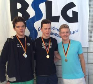 Lennart Platz 3 50m Freistil offene Klasse